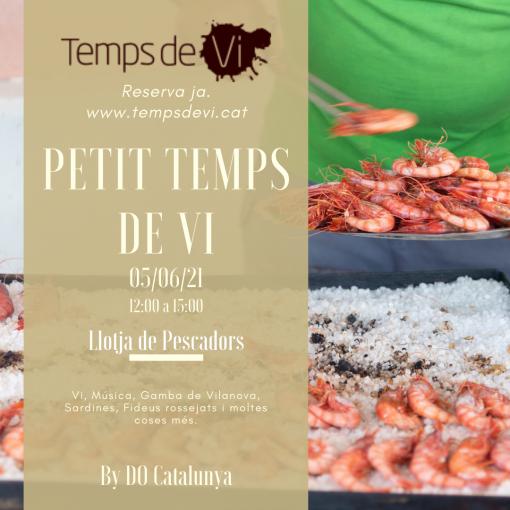 Petits Temps de Vi By DO Catalunya | cartell