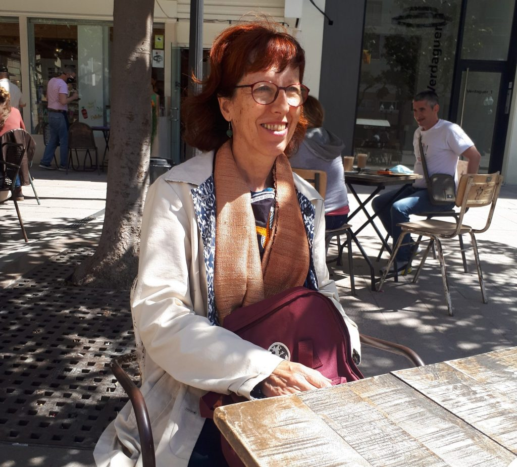 L'enòloga Montserrat Nadal