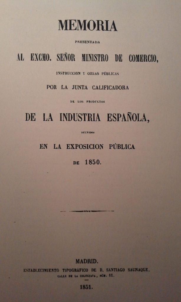 Pau Galí, premiat a Madrid per un vi escumós al 1850 | arxiu