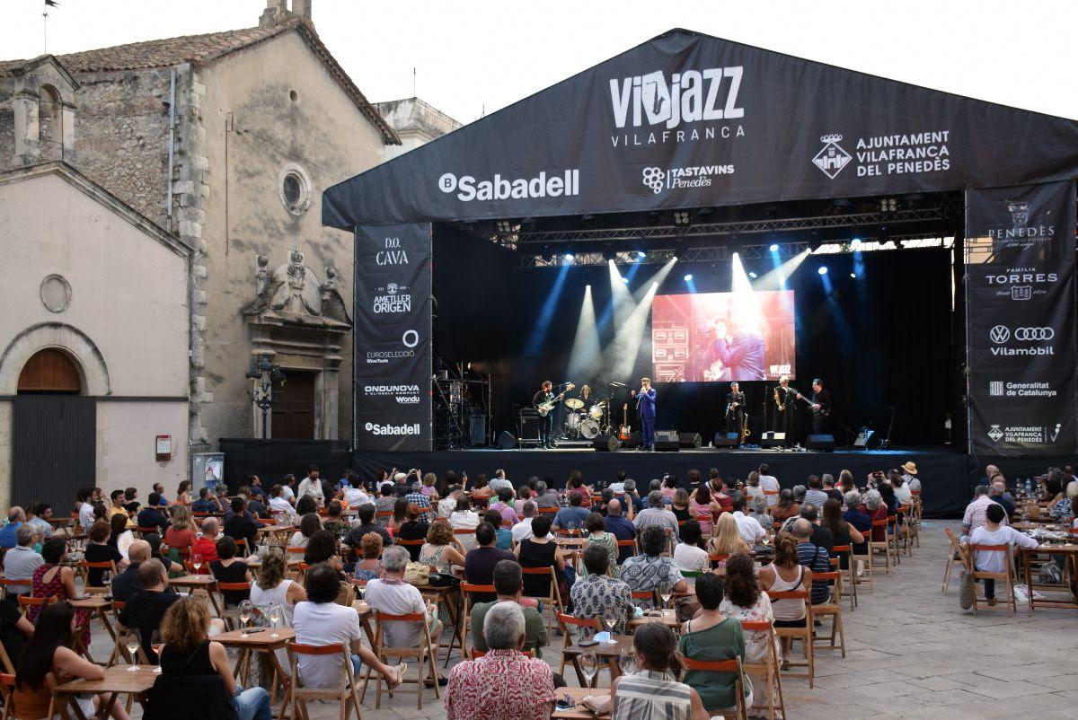 El Festival ViJazz ha omplert de vi i jazz Vilafranca del Penedès