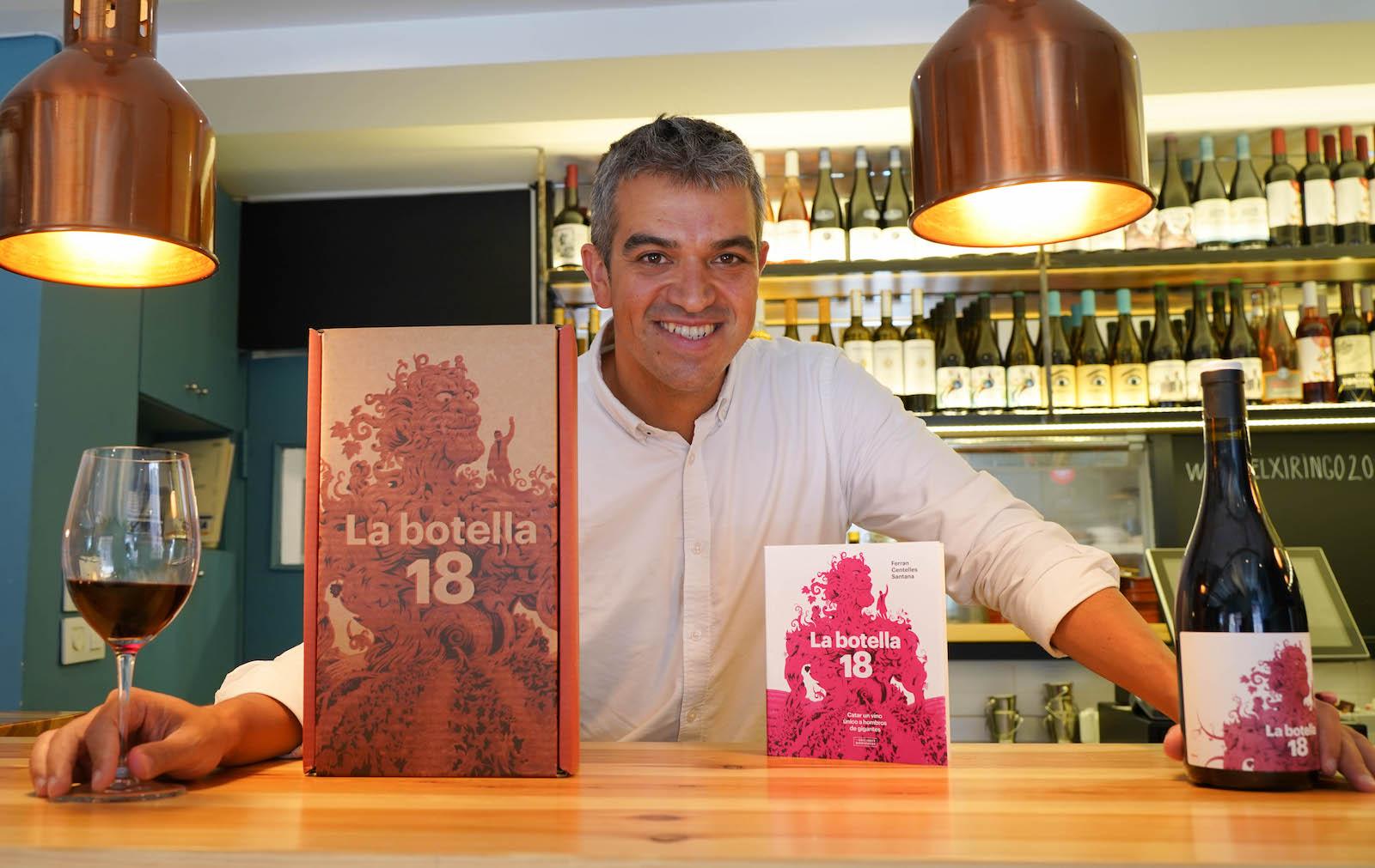 Ferran Centelles publica el seu últim llibre, 'La Botella 18'   F.C.