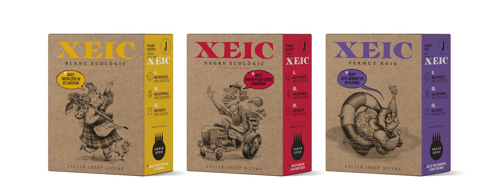 Xeic, Bag in Box del celler Josep Vicens de Gandesa