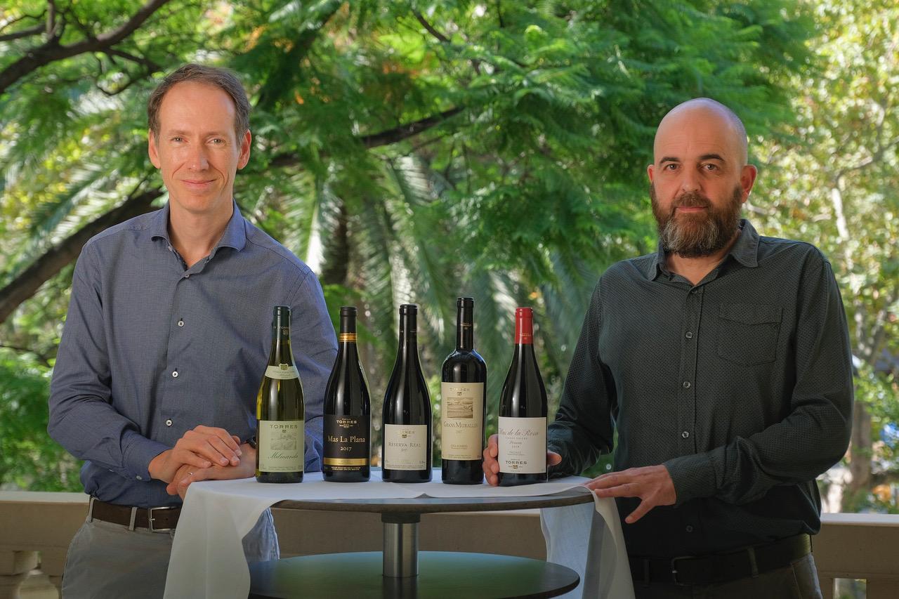 Presentació noves anyades dels vins d'antologia, amb Miquel Torres i Josep Sabarich |Foto:  Jordi Elias