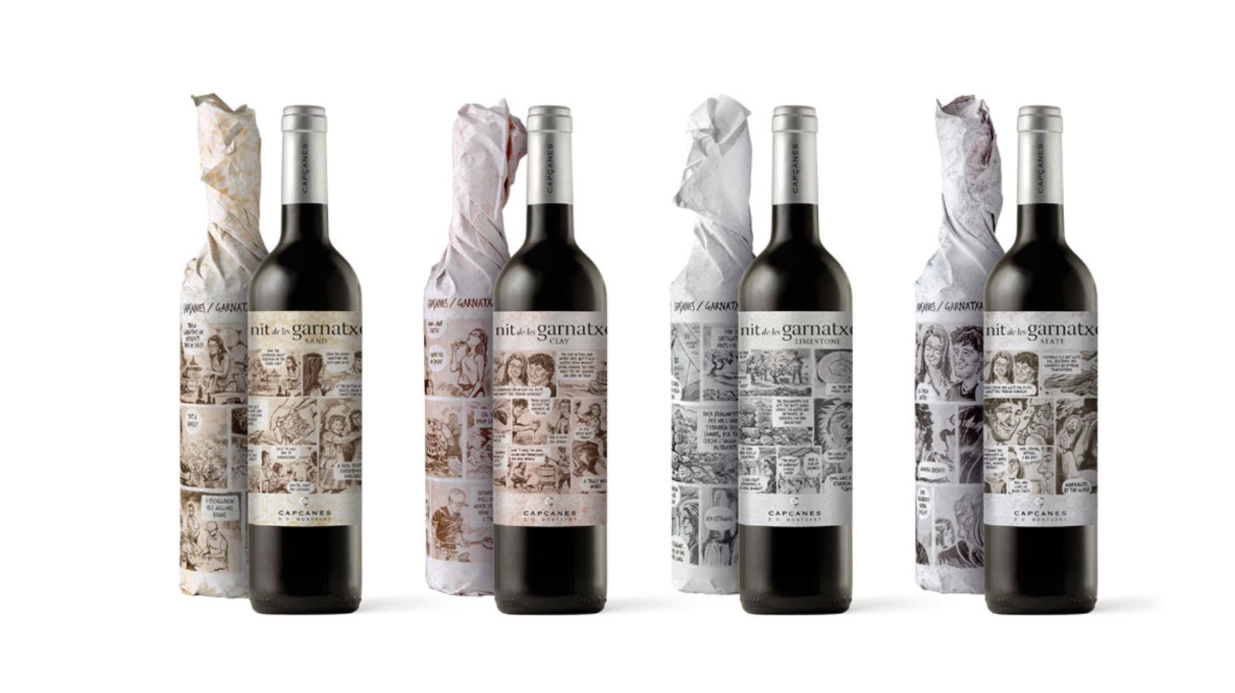 Gamma de vins de La Nit de les Garnatxes del Celler de Capçanes | captura