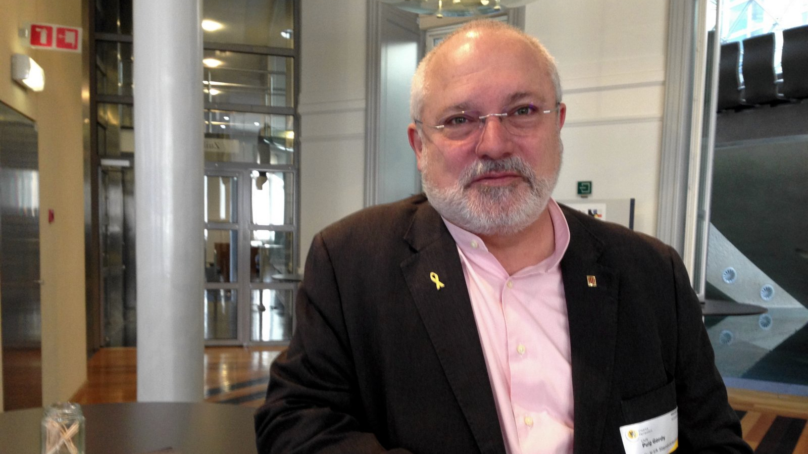 El conseller de Cultura a l'exili, Lluís Puig