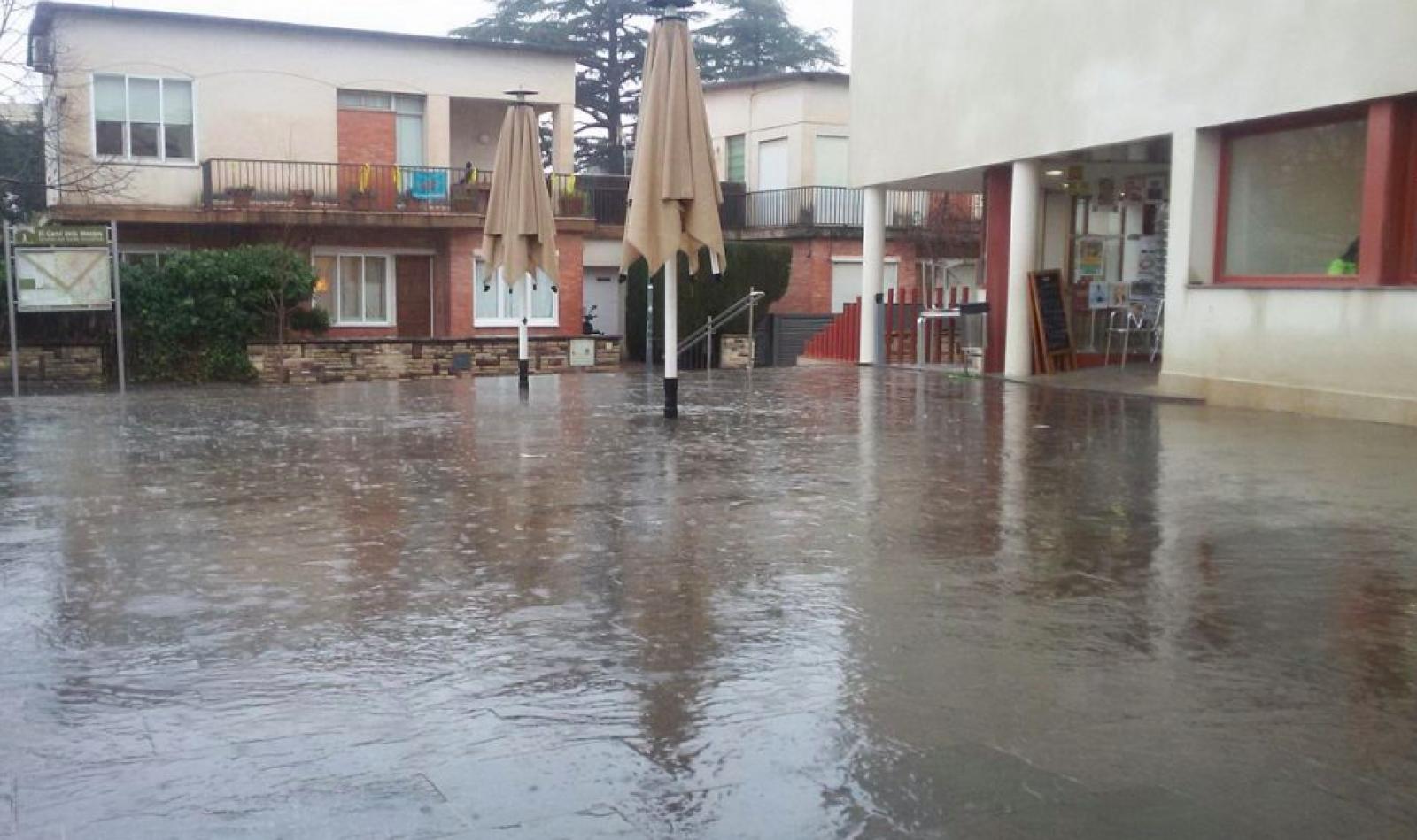 La pluja va deixar prop de 80 litres per m2 a Matadepera