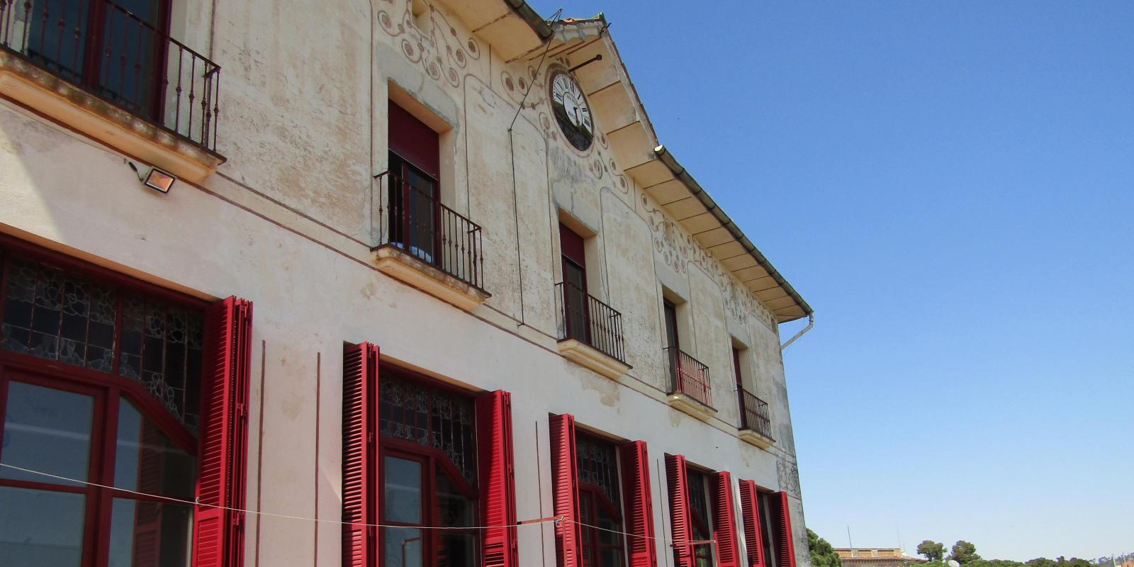 L'antic hotel Buenos Aires, del segle XIX, a Vallvidrera