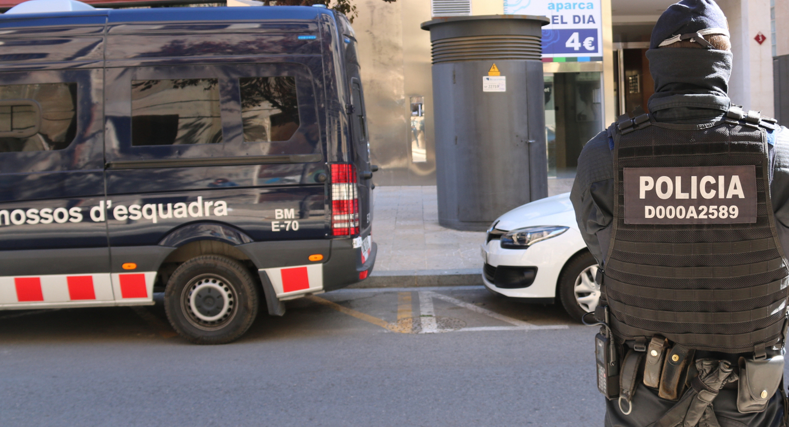 El dispositiu dels Mossos d'Esquadra a Reus contra un grup que robava en benzineres d'autopistes al Camp de Tarragona