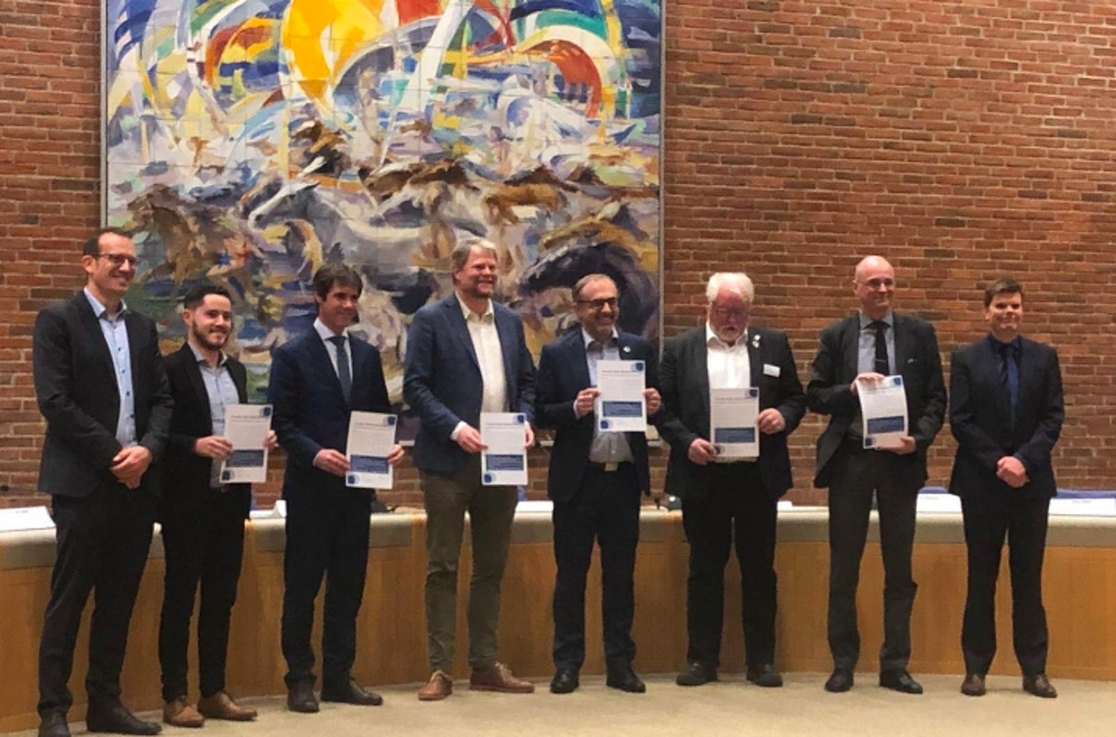 El Consell Comarcal signa a Dinamarca la Declaració de Ciutats Circulars