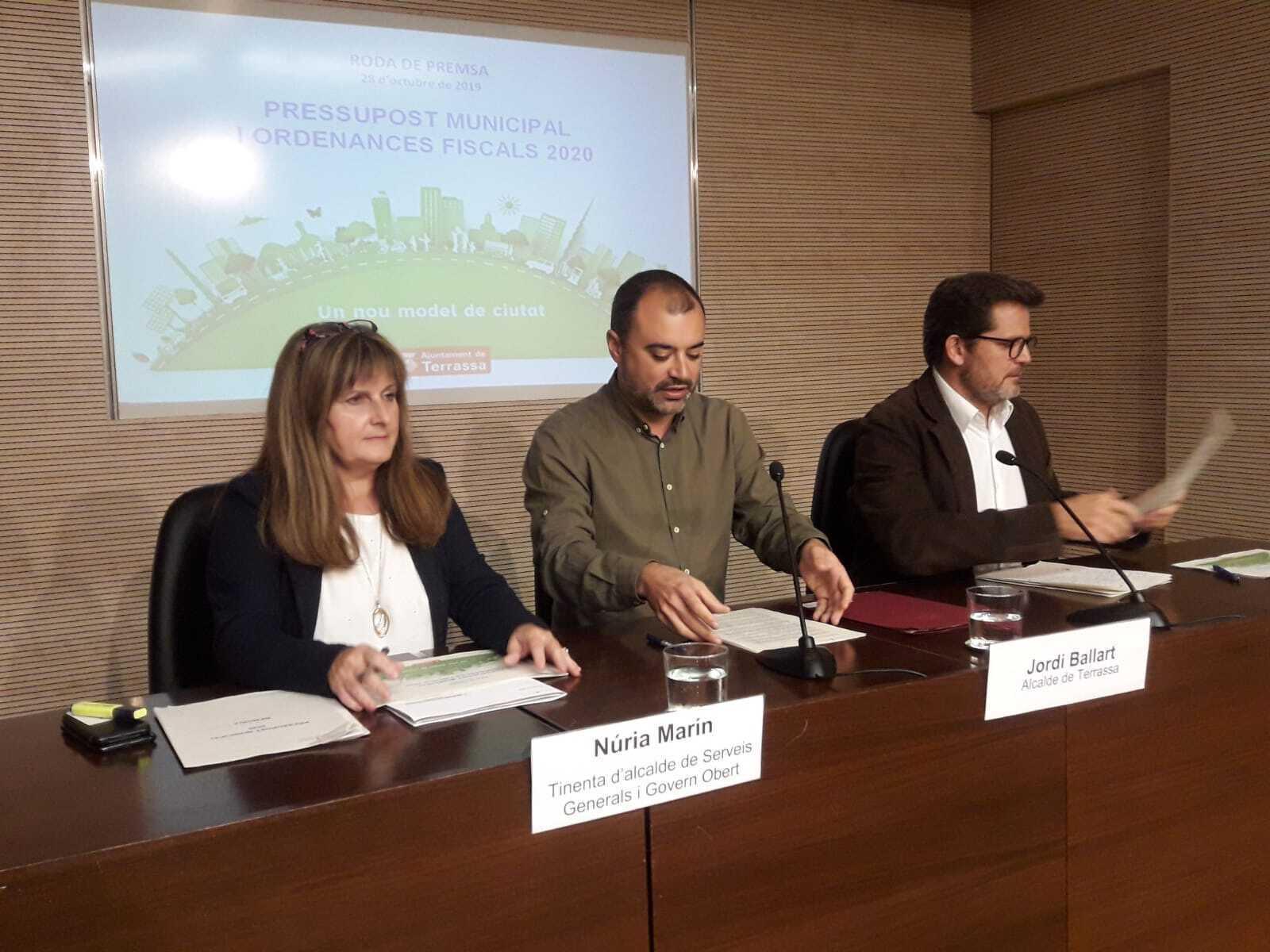Núria Marín, Jordi Ballart, Isaac Albert