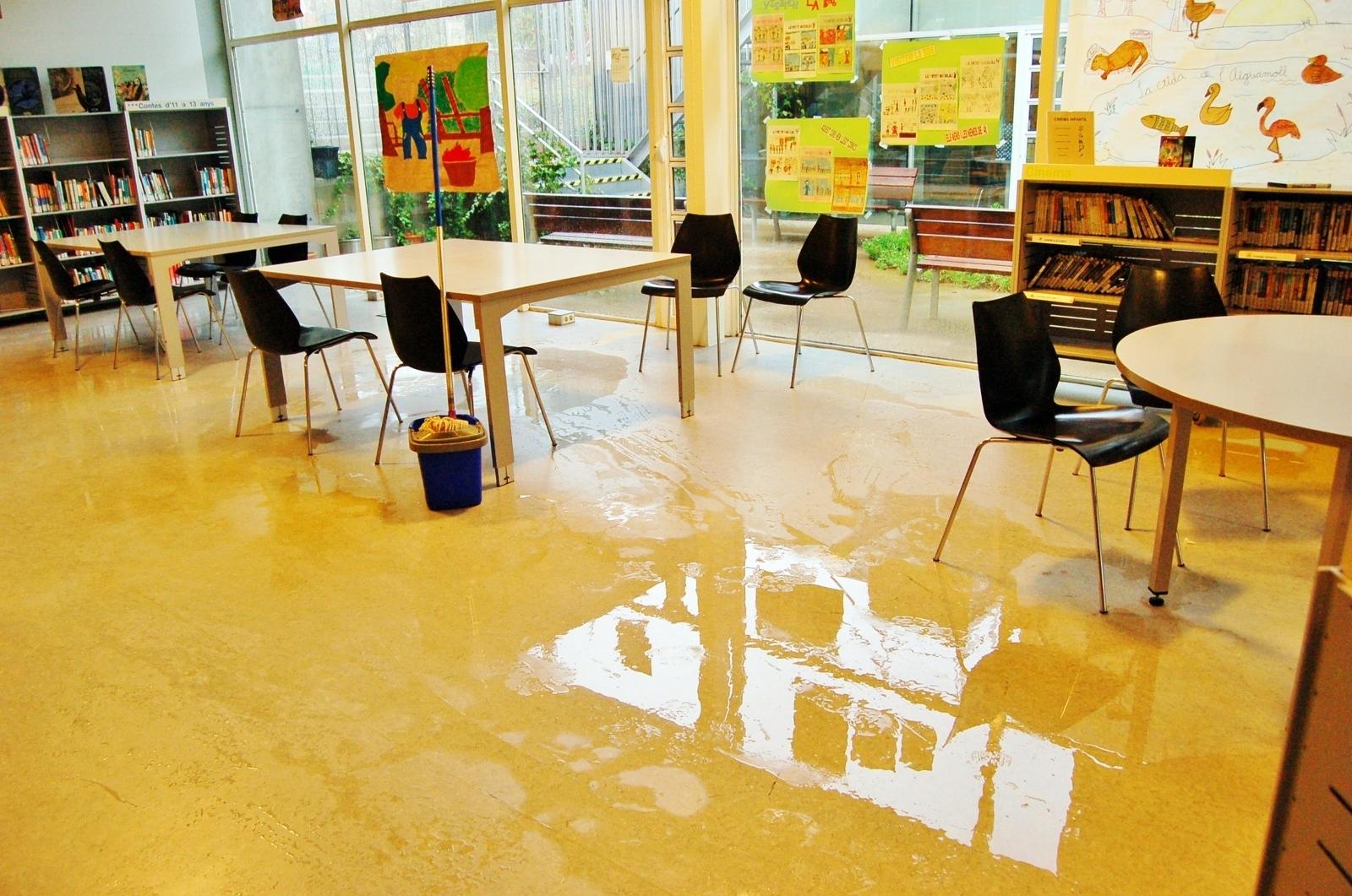 Inundada la BD6 a Terrassa