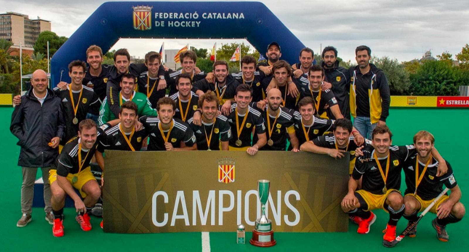 L'Atlètic s'ha proclamat campió de Catalunya