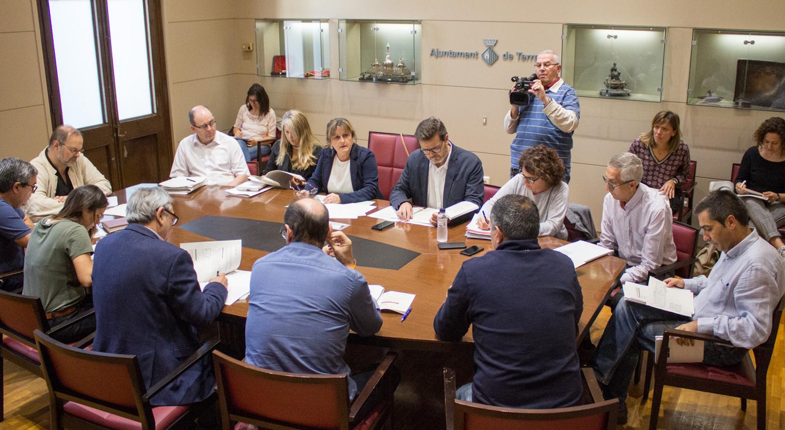 Reunió per presentar la proposta de pressupostos i ordenances