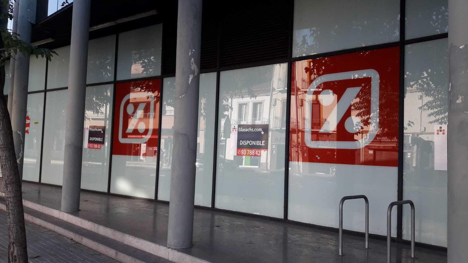 Supermercat Dia ha tancat a la carretera Martorell