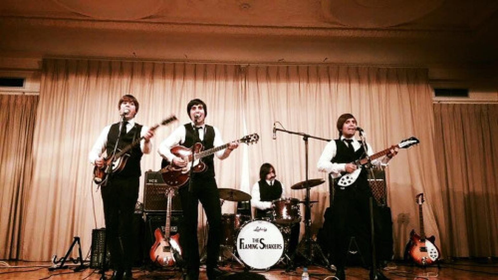 The Flaming Shakers