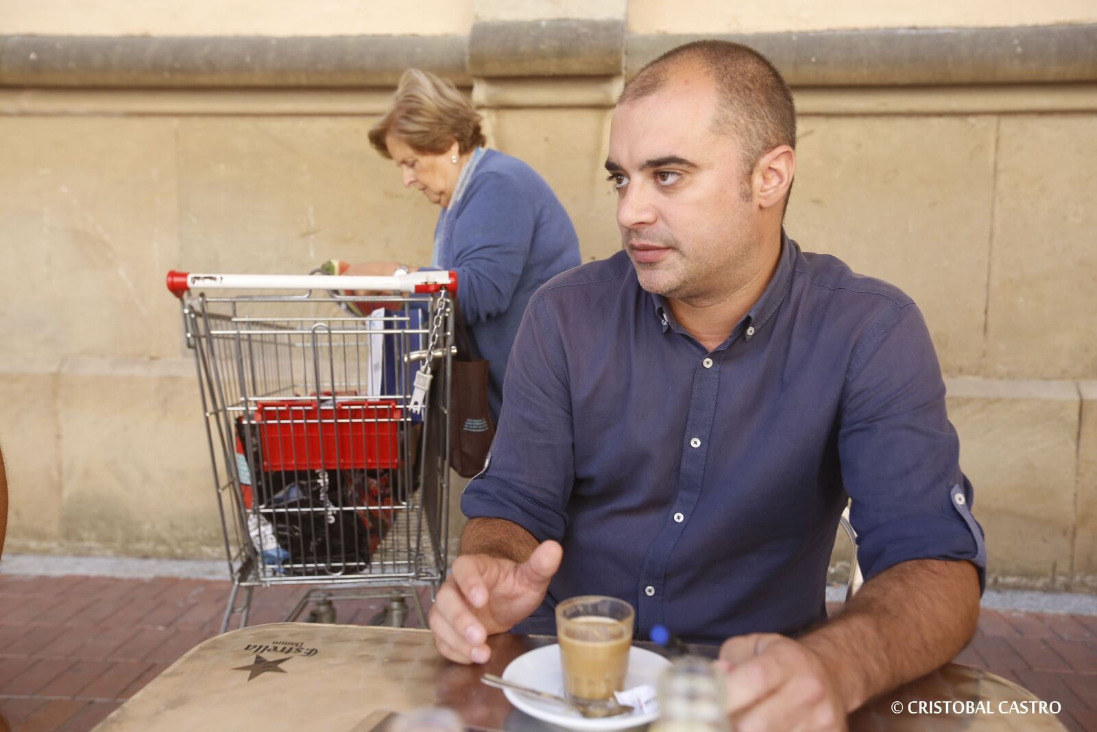 L'alcalde Jordi Ballart, en l'entrevista pel Món Terrassa