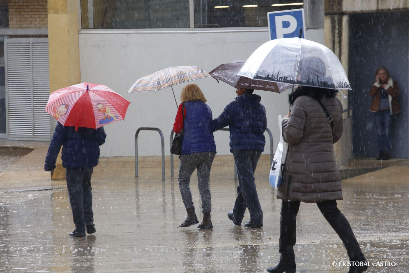 Dia de pluja a Terrassa