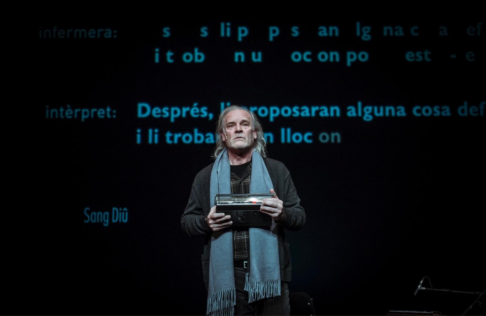Lluís Homar és el protagonista absolut de l'obra