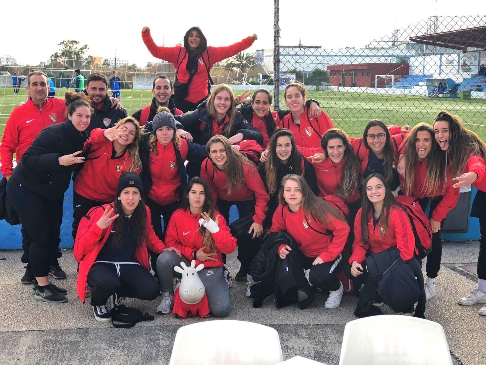 El primer equip del femení del Terrassa FC