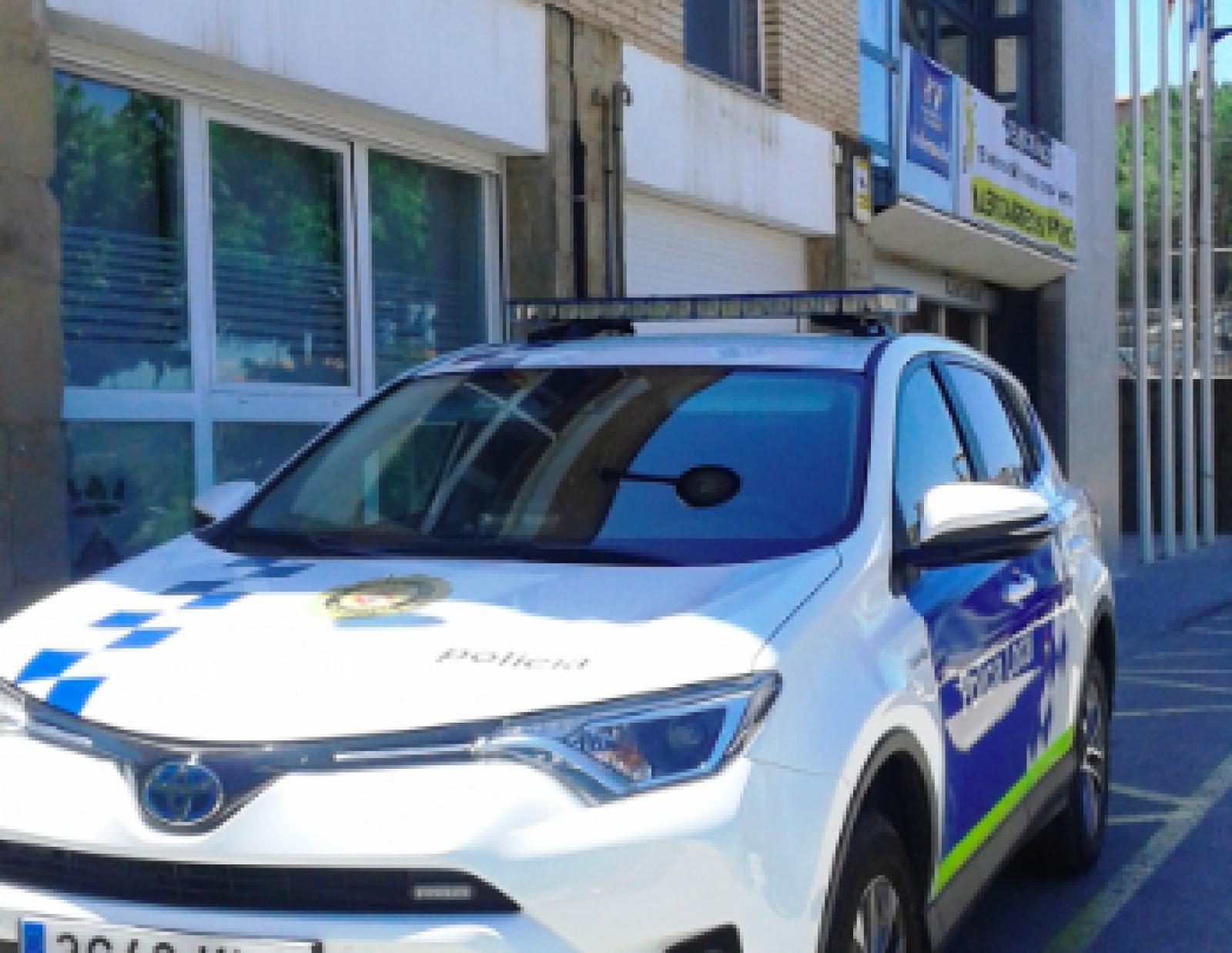 Cotxe de la policia municipal de Vacarisses