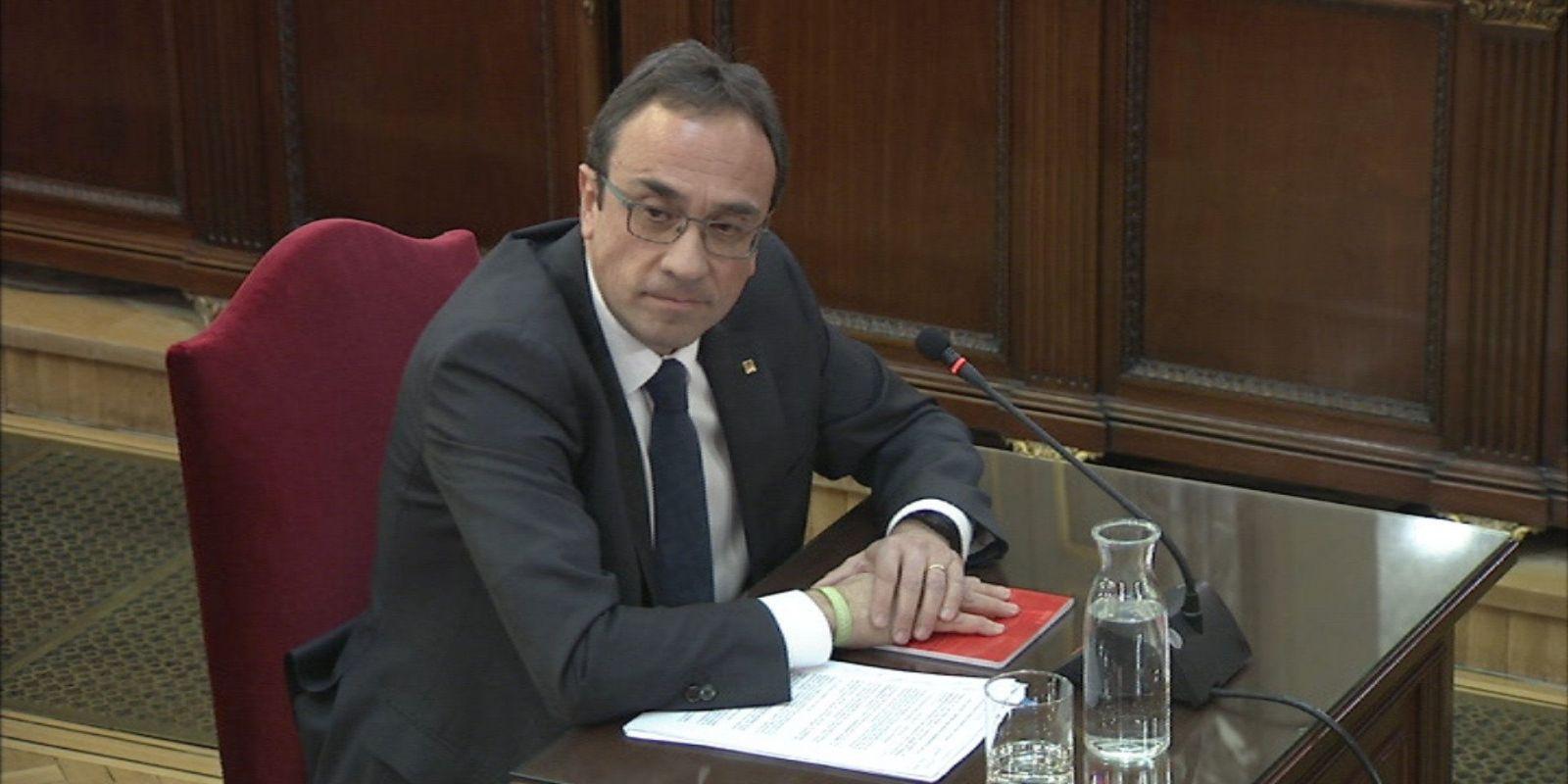 Josep Rull, declarant al Tribunal Suprem