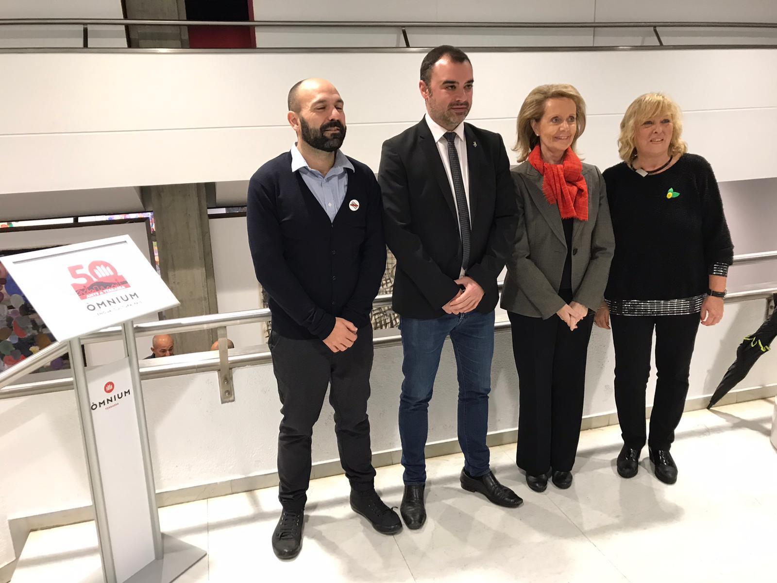 Marcel Mauri, Jordi Ballart, Mariàngela Vilallonga i Anna Carol