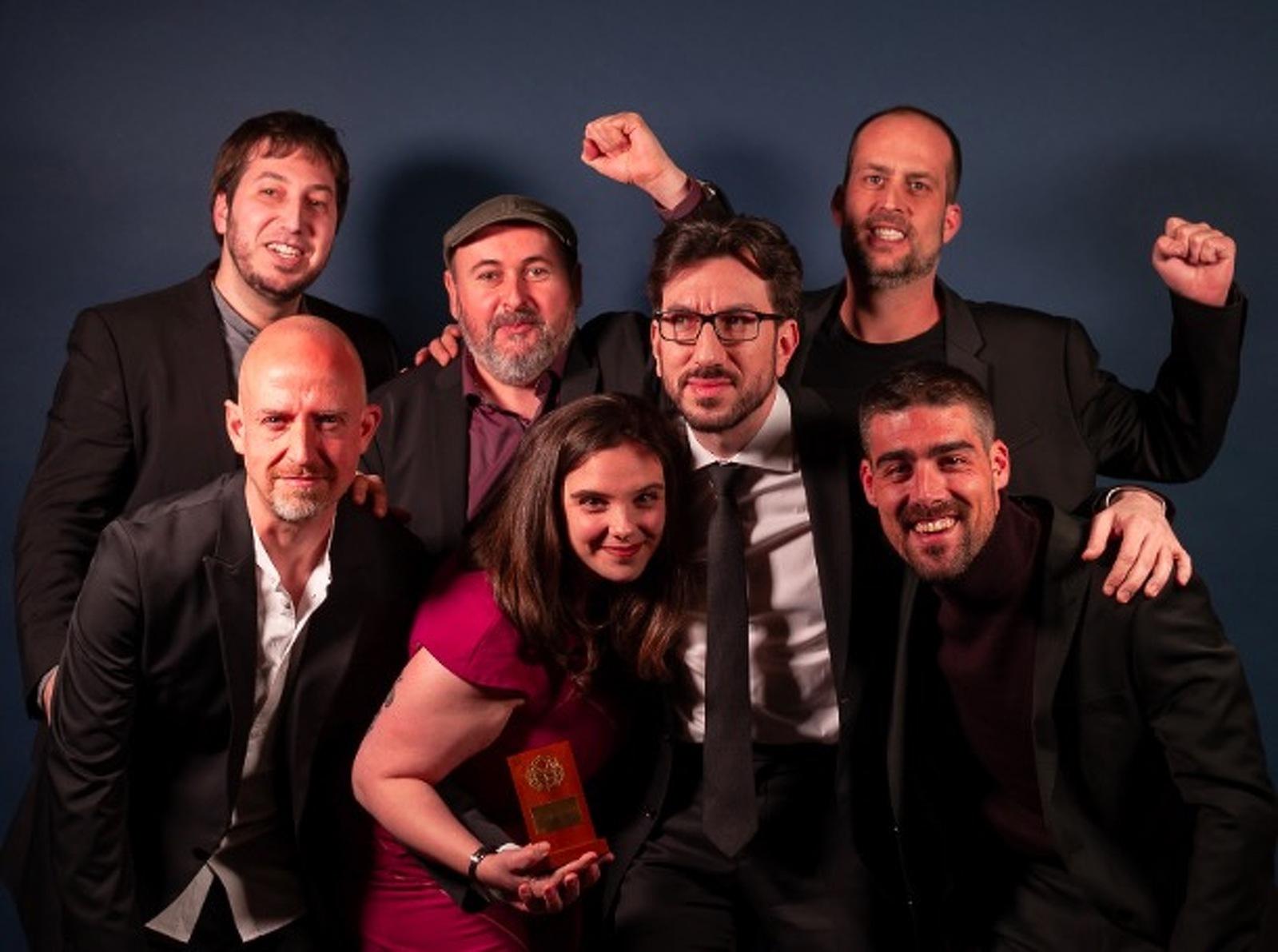 L'equip de Set raons per fugir, pel·lícula guanyadora d'un Gaudí i que es va rodar a Terrassa