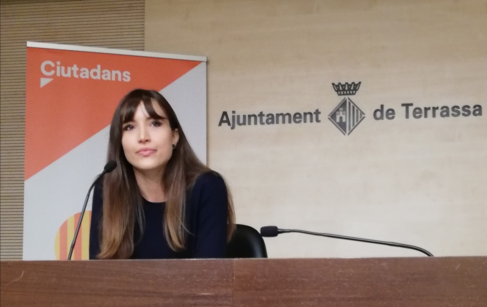 Laregidora del Grup Municipal de Ciutadans (Cs) a l'Ajuntament de Terrassa, Isabel Martínez