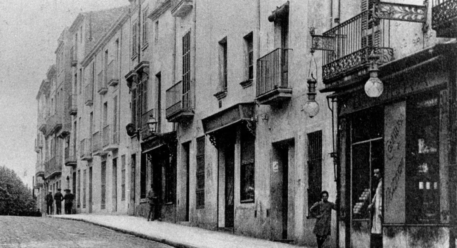 El carrer de la Font Vella de Terrassa