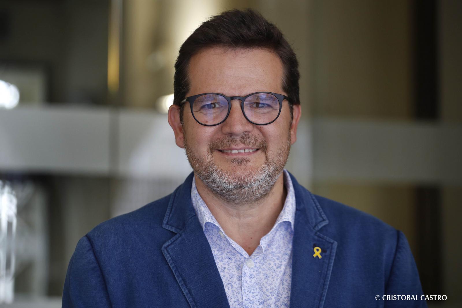 Isaac Albert, candidat d'ERC a l'alcaldia de Terrassa