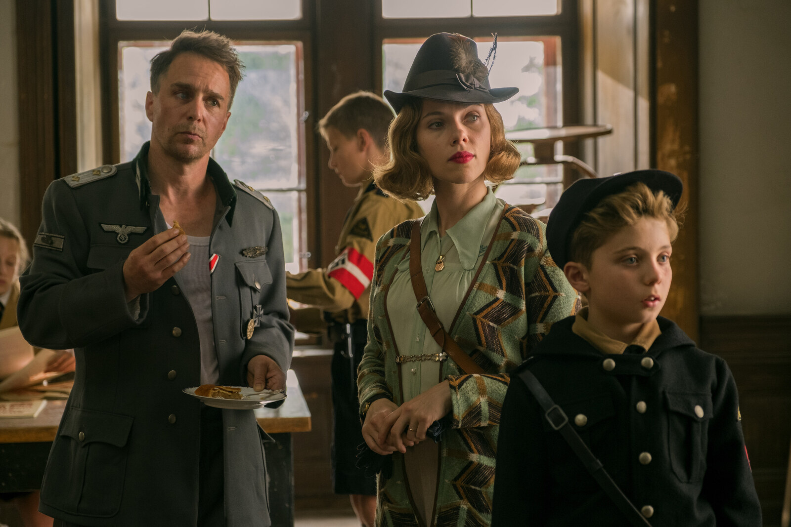 Fotograma del film 'Jo Jo Rabbit'.