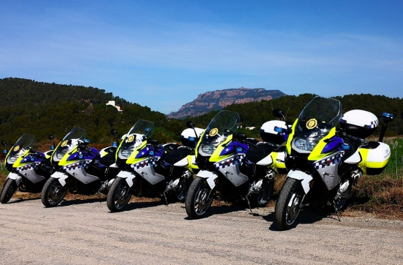 Motos de la policia municipal de Terrassa