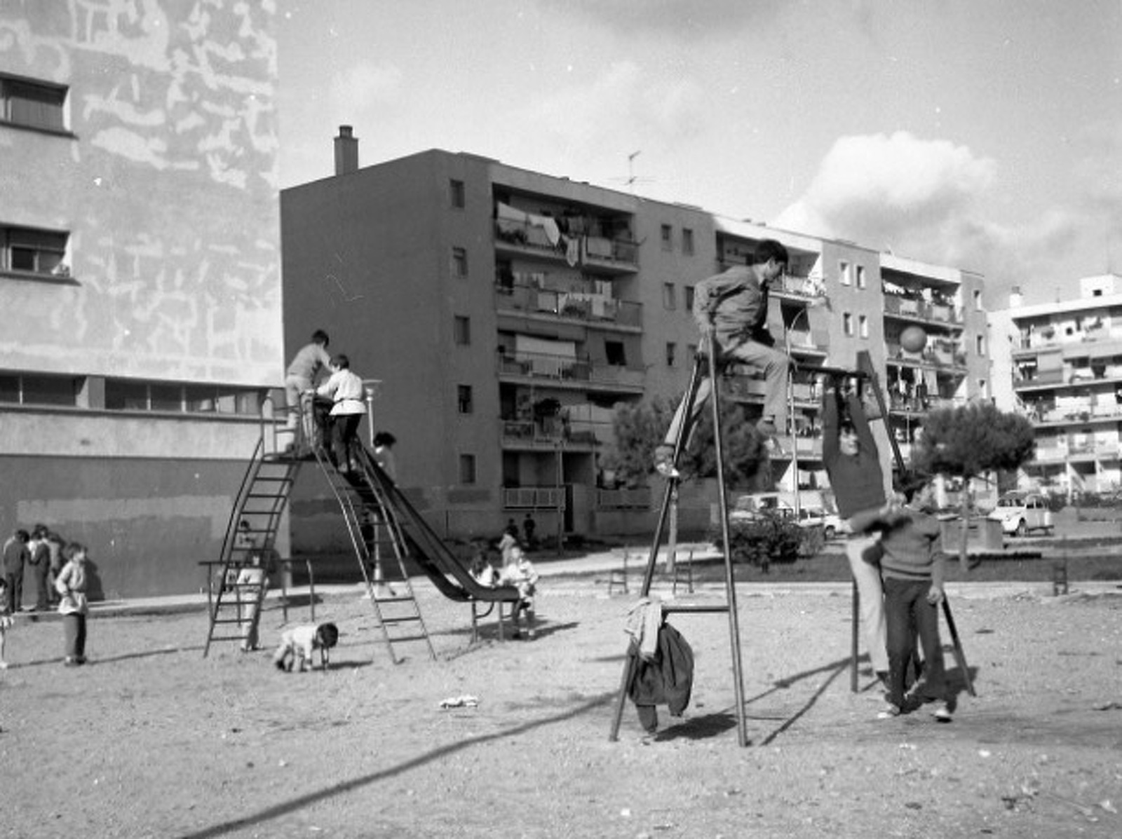 Plaça de la Font de la Pola, l'any 1971