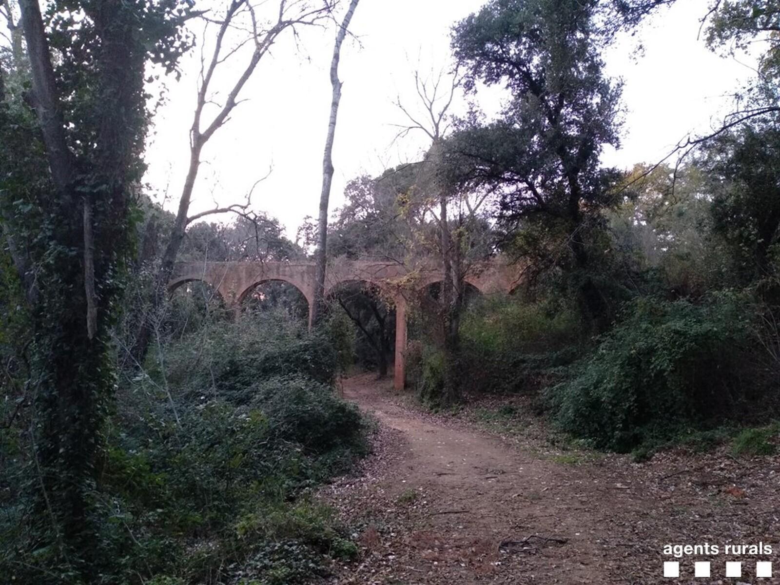 L'aqüeducte de Can Bonvilar