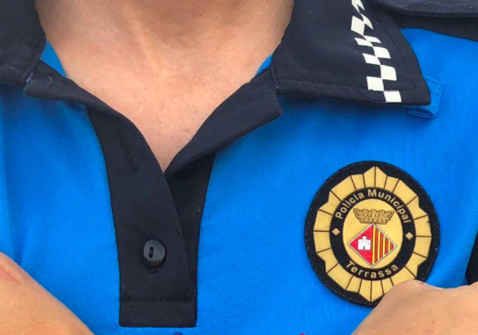 Un agent de la Policia Municipal de Terrassa