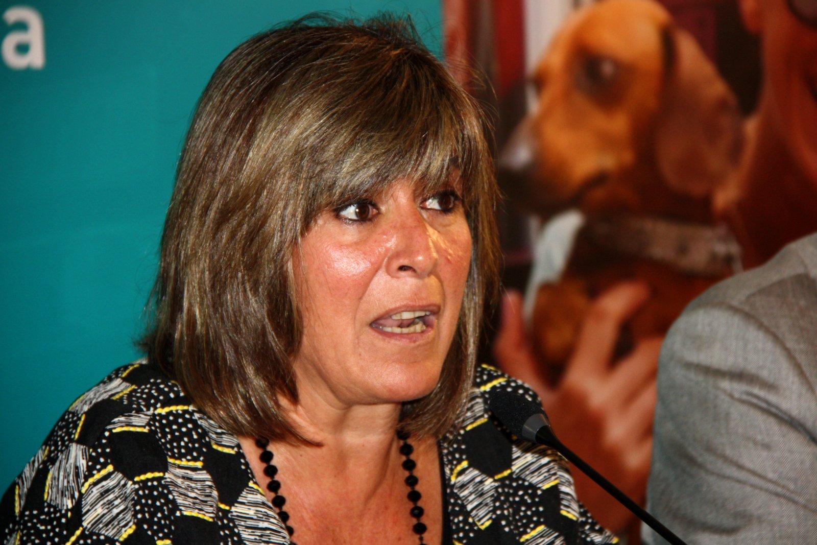 L'alcaldessa de l'Hospitalet de Llobregat, Núria Marín