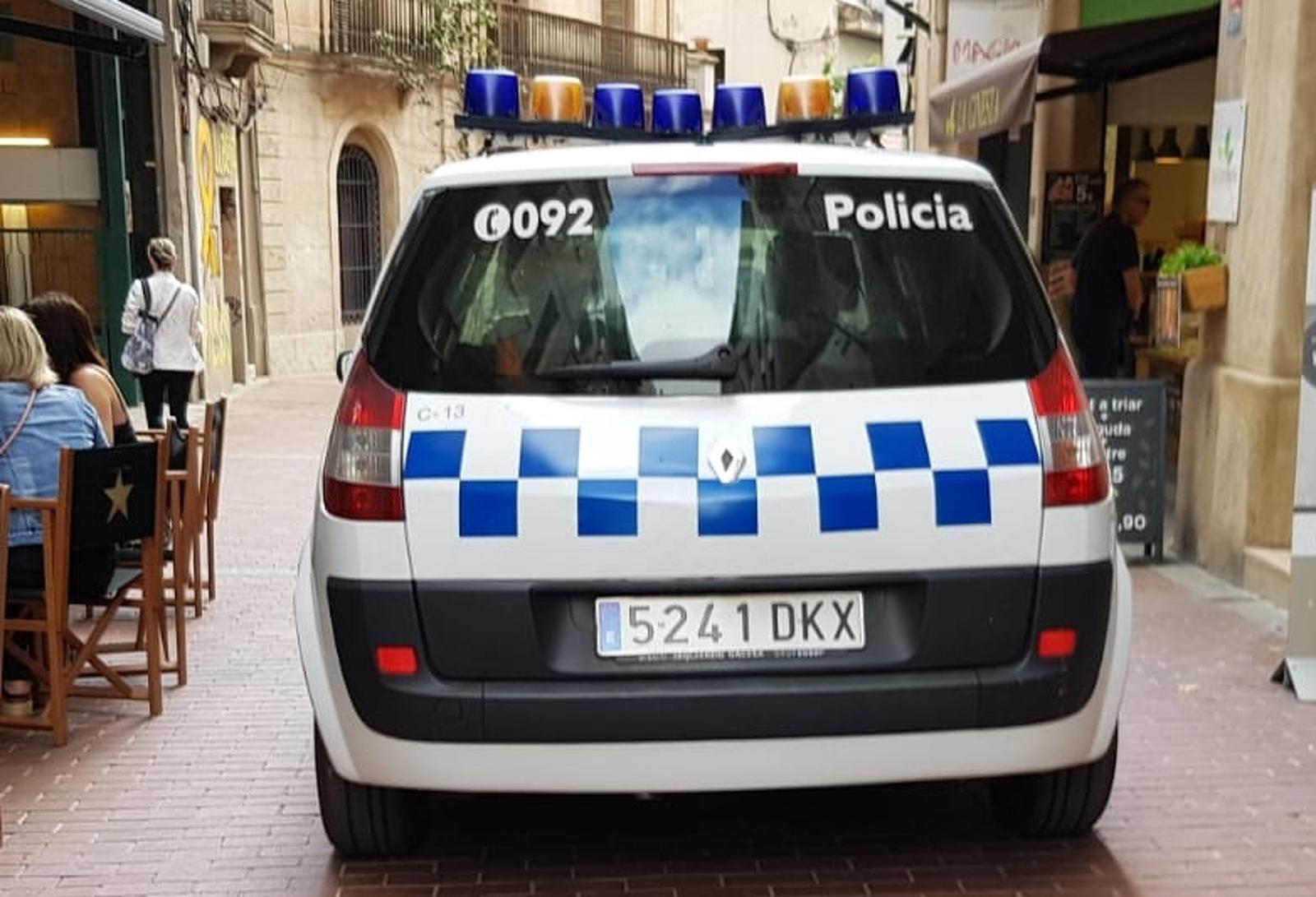 Cotxe de la policia municipal de Terrassa