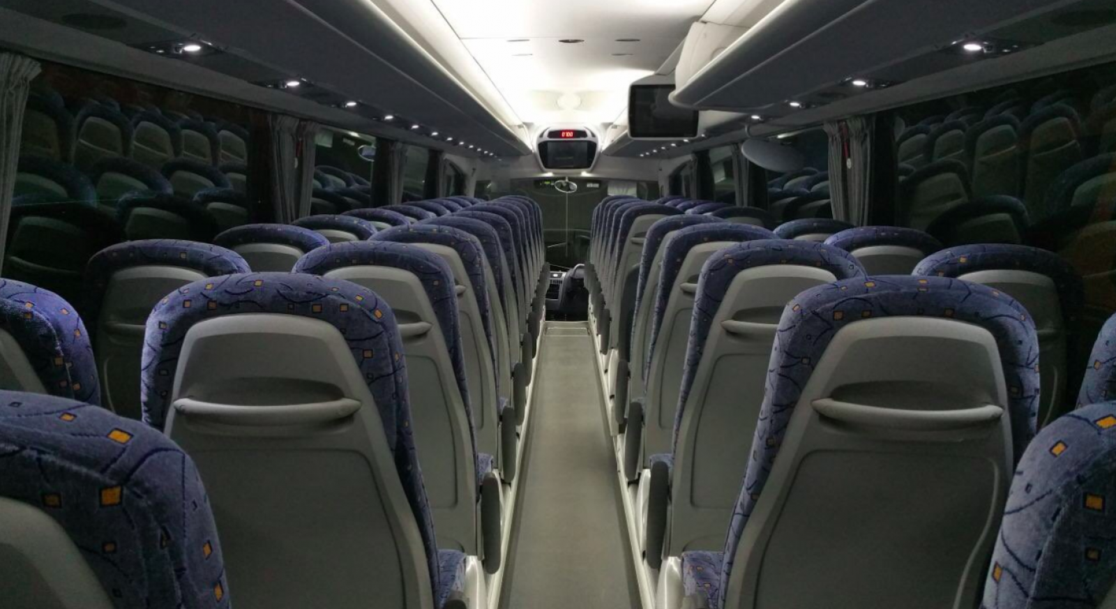 Interior d'un autobús del TGO
