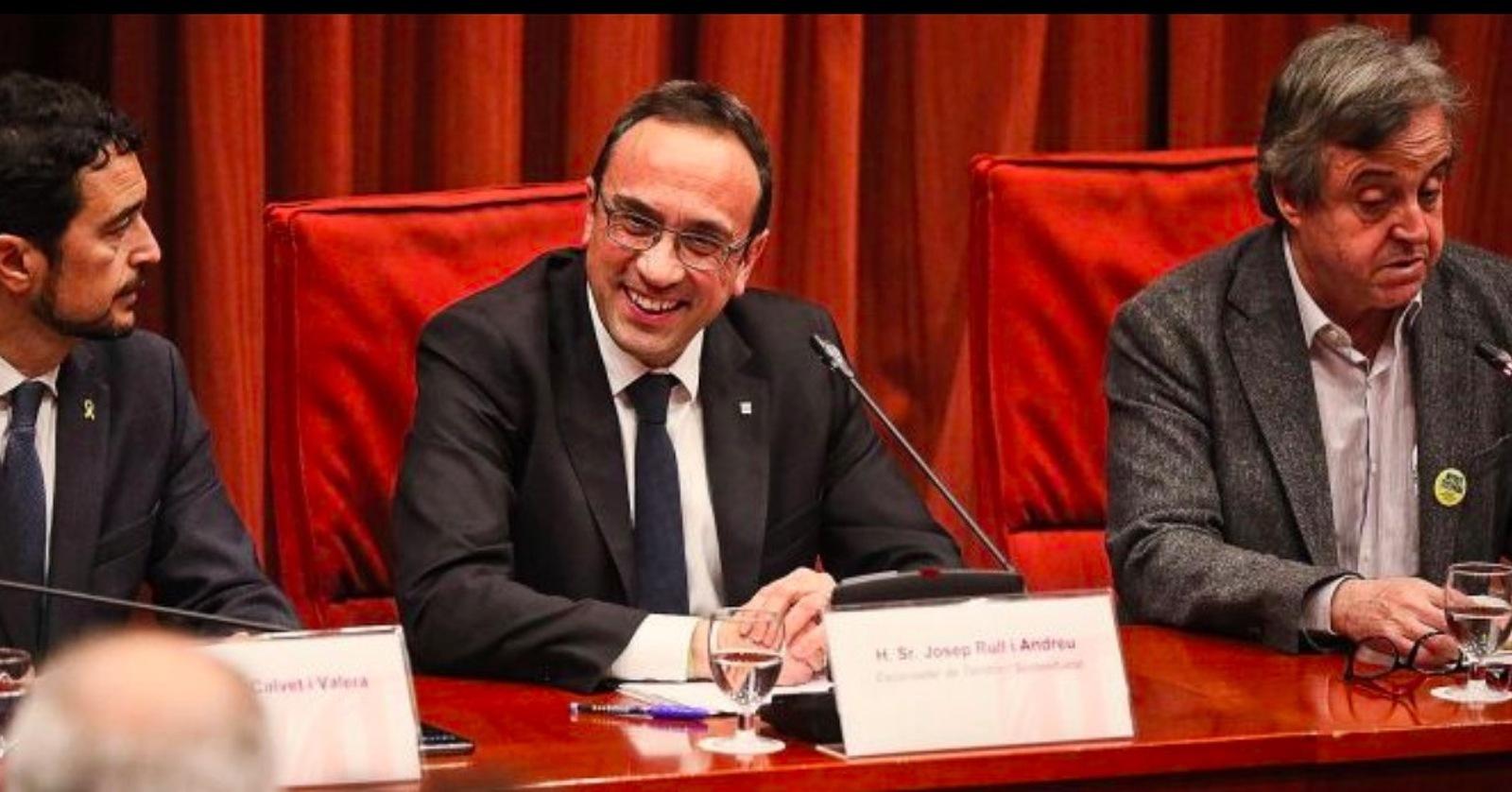 Josep Rull al Parlament