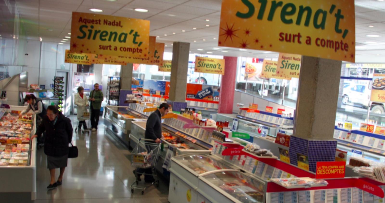Un dels establiments de La Sirena a Catalunya