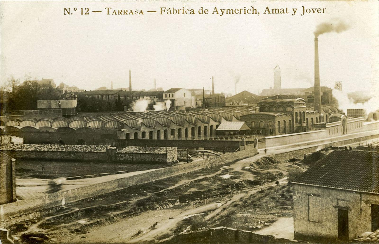 El vapor Aymerich, Amat i Jover, el 1911