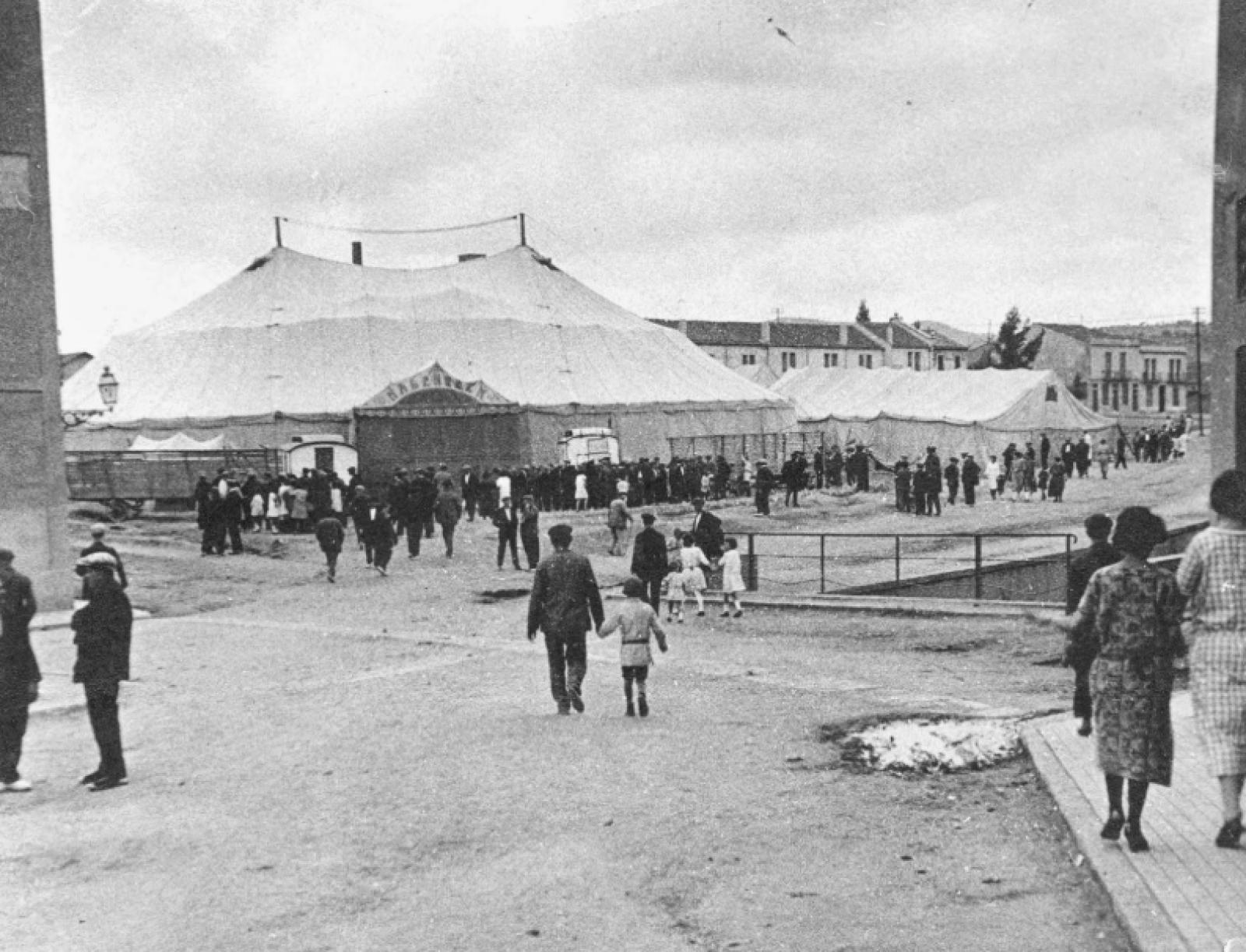 El circ Hagenbeck 1924