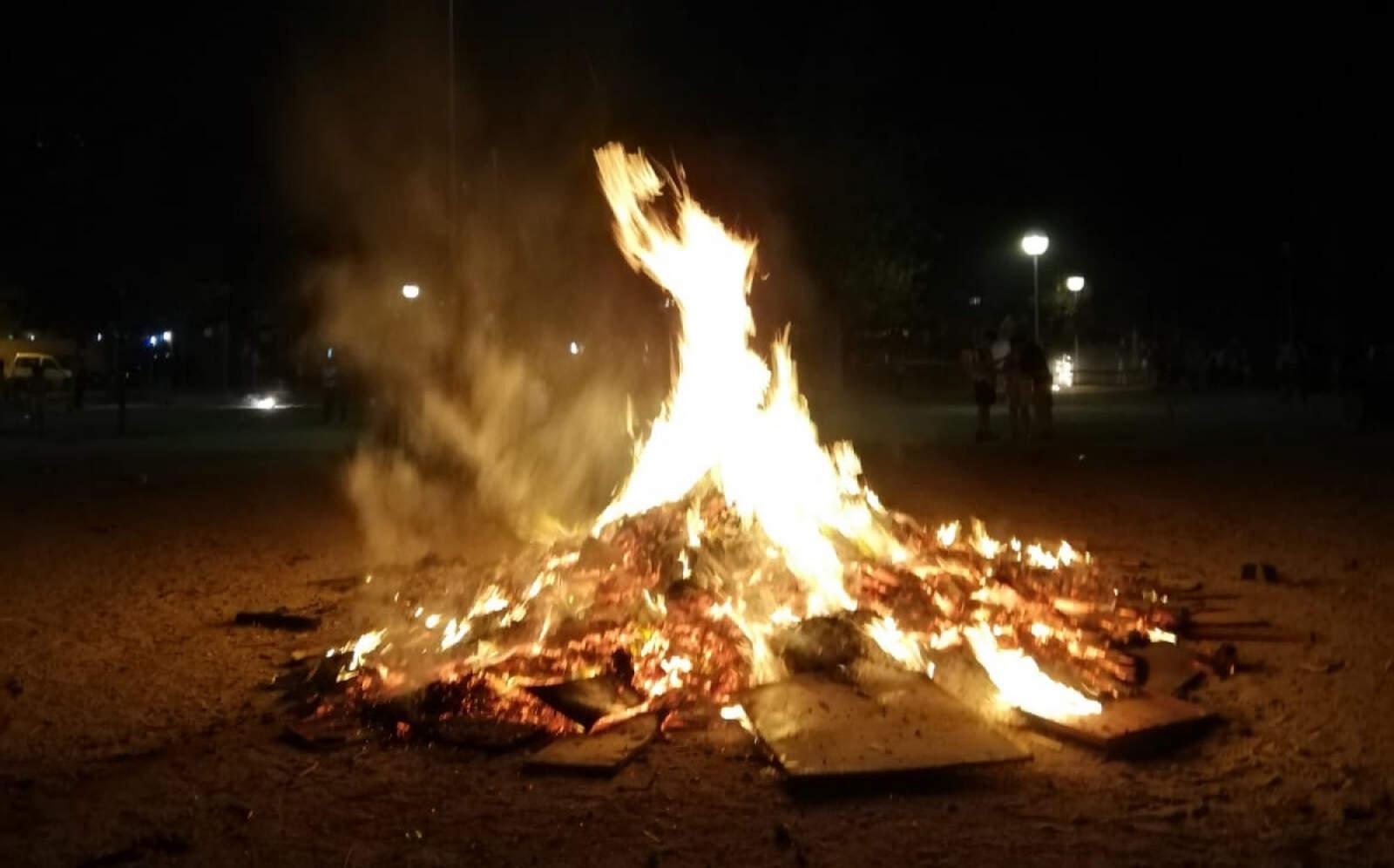 foguera de sant joan