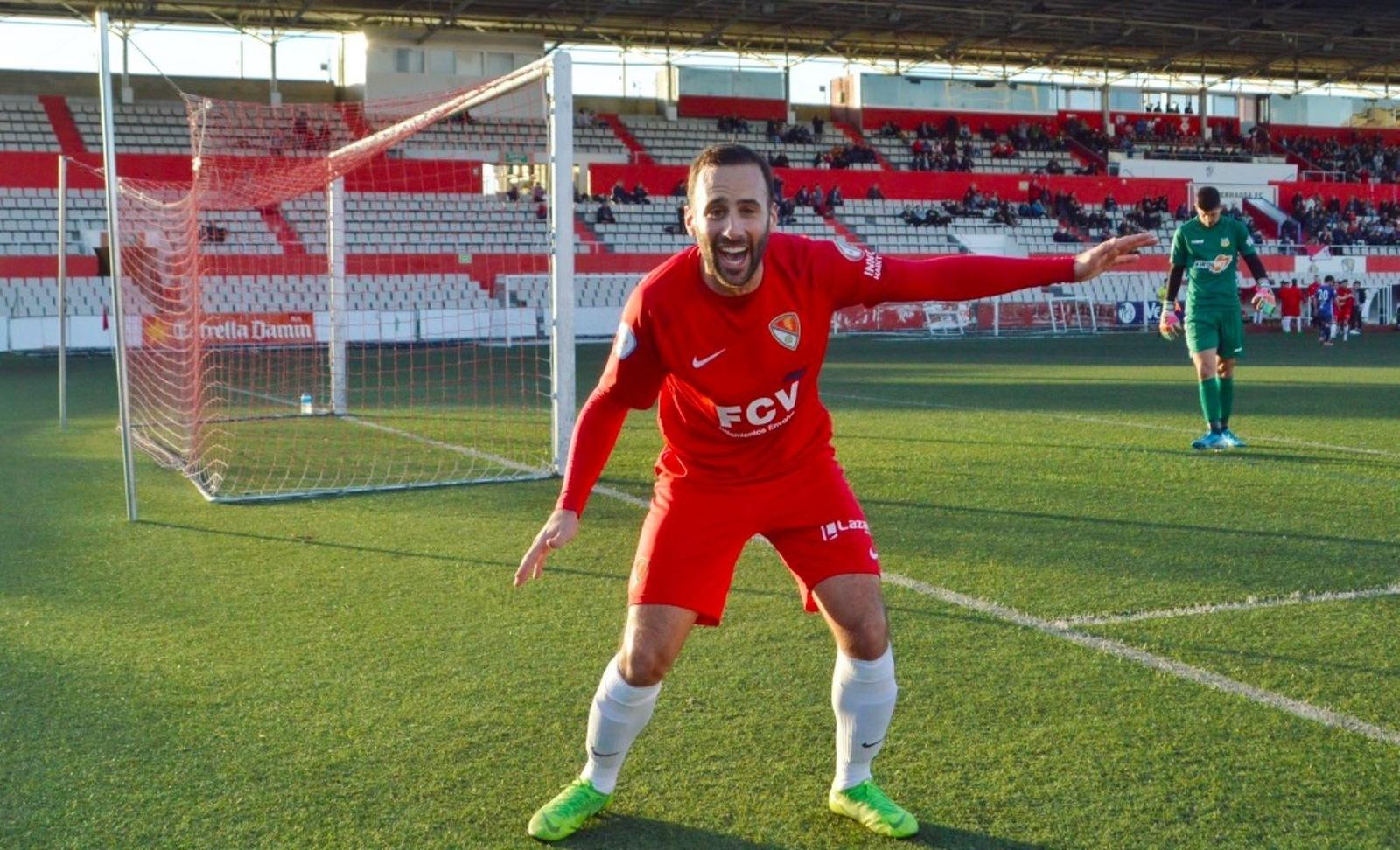 Arranz celebra el gol