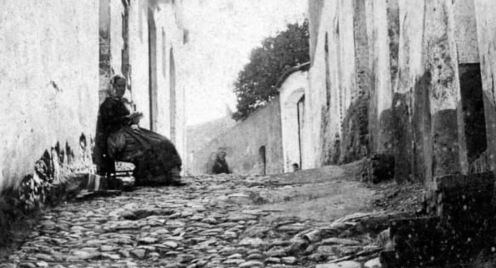 Carrer de les Escaletes, 1880