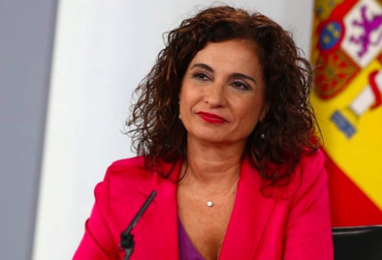 La ministre d'Hisenda Maria jesús Montero
