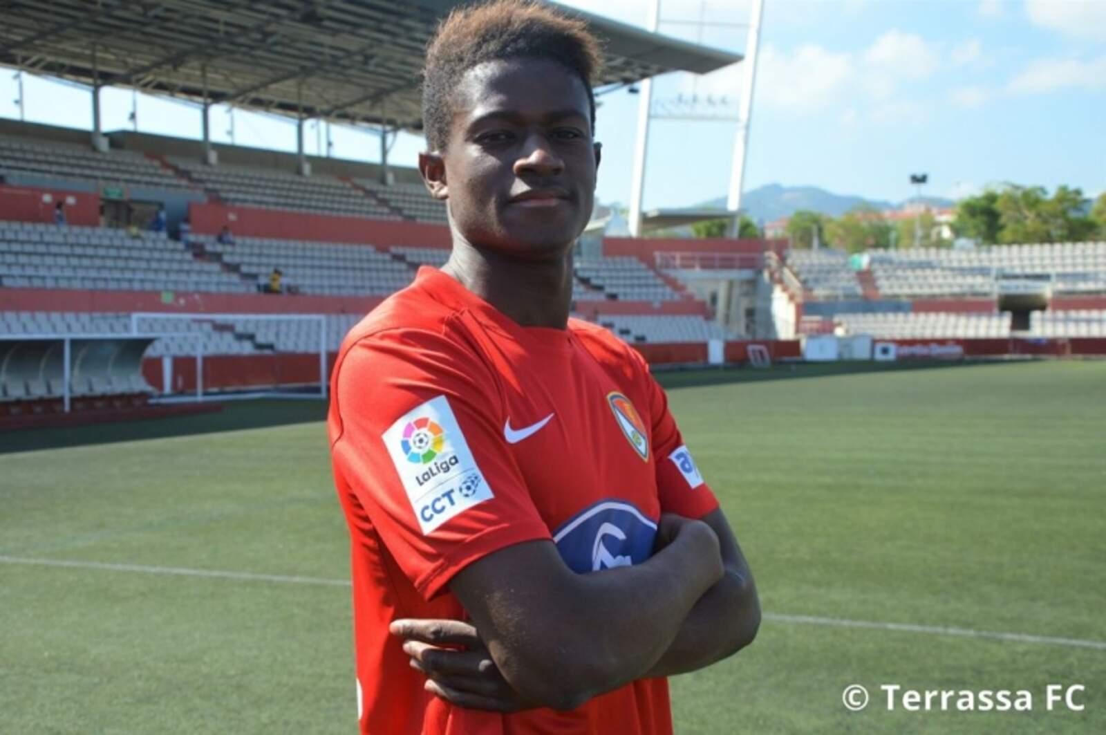 Yayá ha disputat tres temporades amb el club egarenc