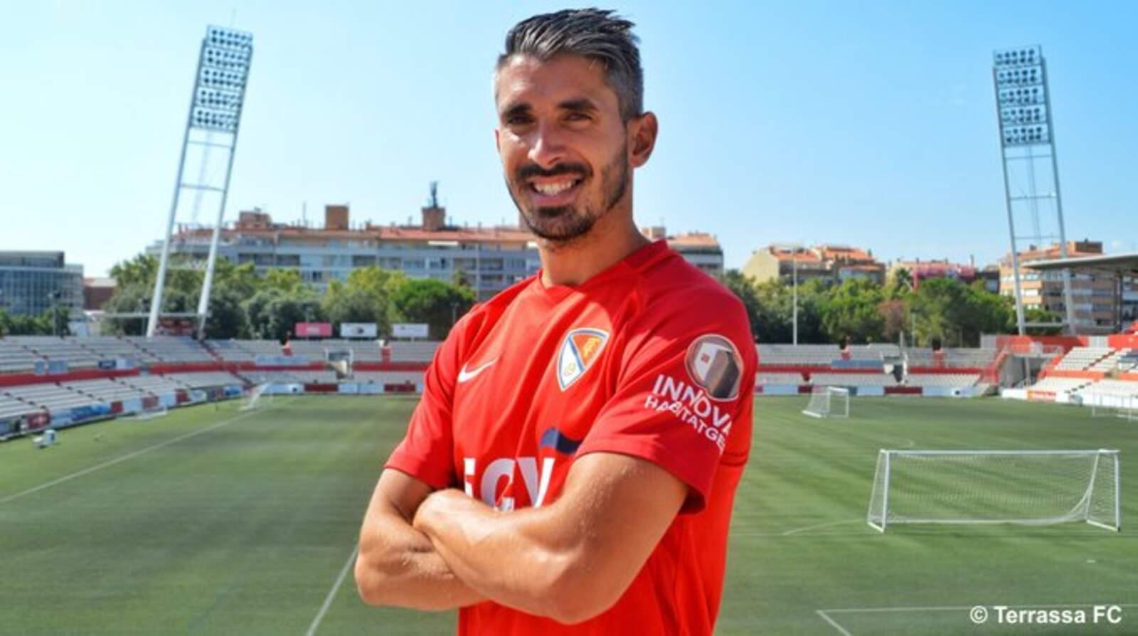 Josué Rodríguez, nou jugador del Terrassa