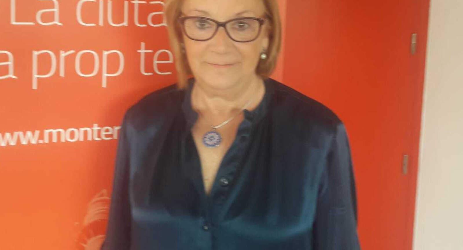 Montserrat Escoda treballava a Funerària durant les riuades