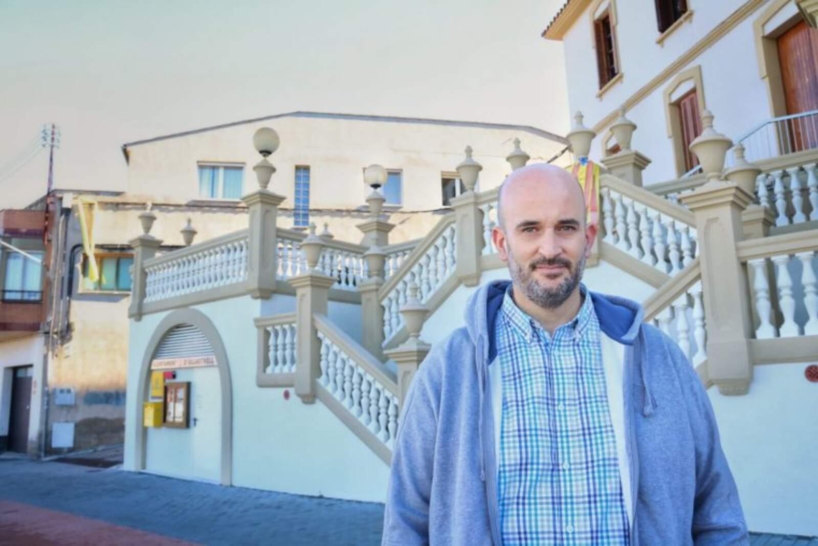 Miquel Puig, portaveu del PDeCAT a l'Ajuntament d'Ullastrell